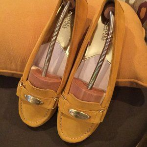 MICHAEL KORS SUEDE MOCCASINS